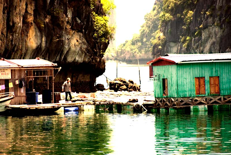 peace-piece-tom-abraham-living at Halong Bay | sống ở Vịnh Hà Long